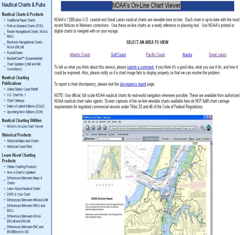 Caska chicago area sea kayakers association noaa nautical charts