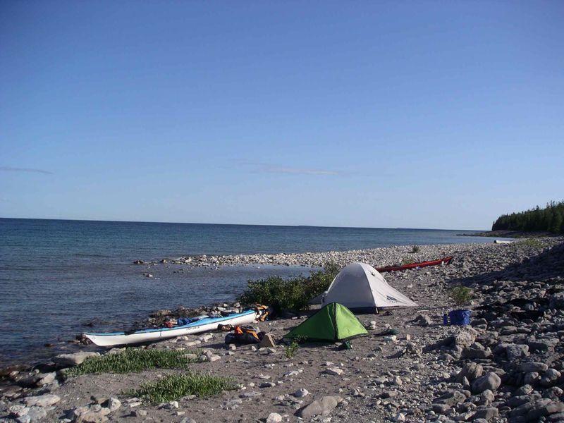 GB Cove Island Campsite