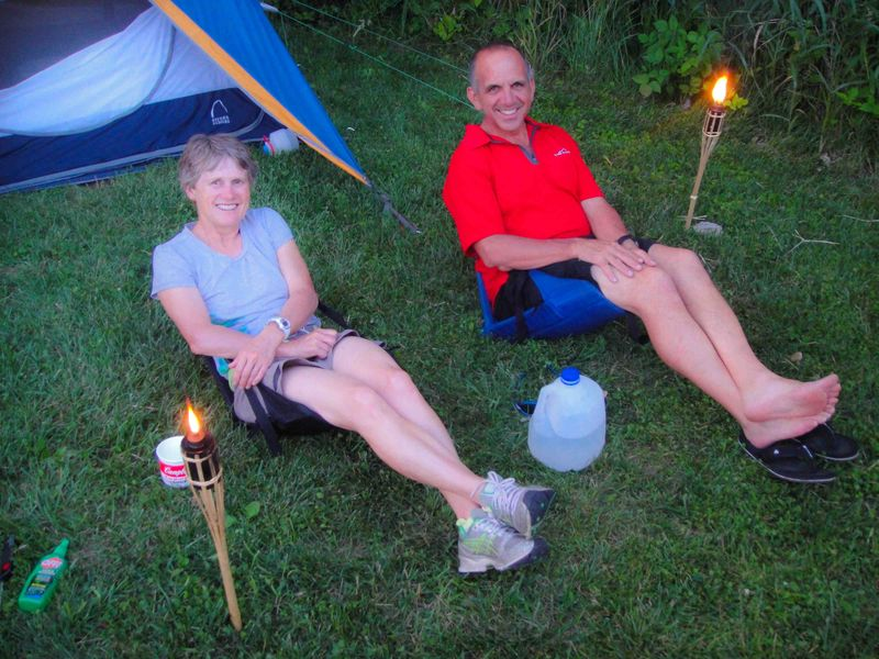 Jeanie & Dave Tempt Skeeters