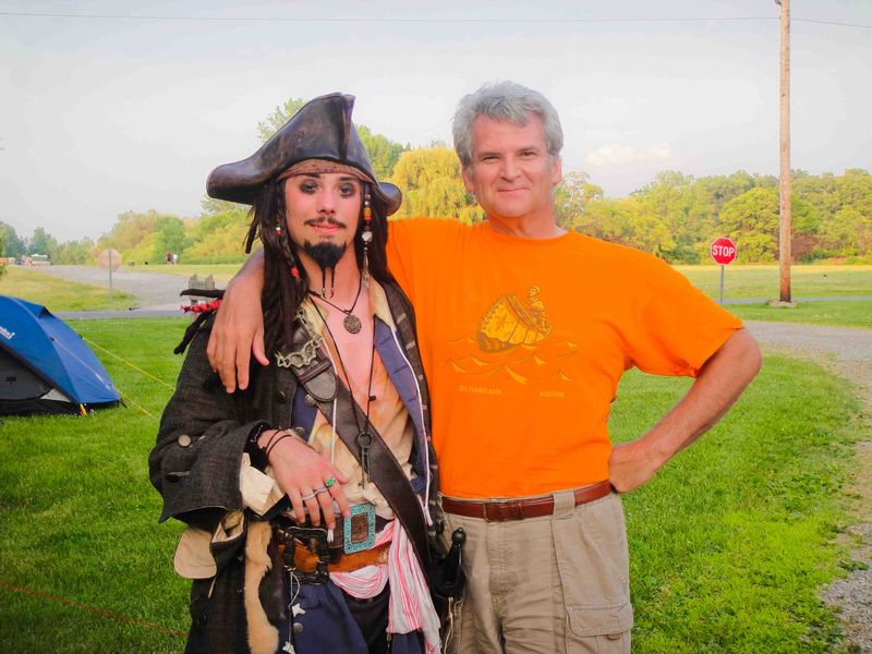 Denis with Pirate