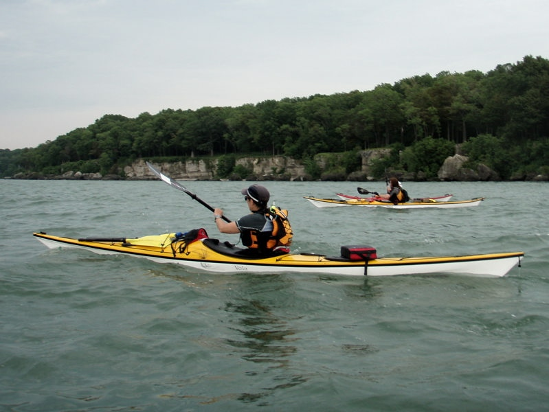 Lake Erie Typical Paddling Environment