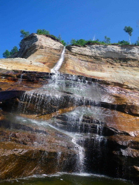 Picture Rocks Waterfall