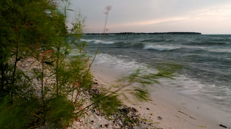 Lake Erie-Beach View