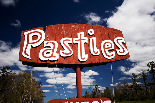 Pasty Sign