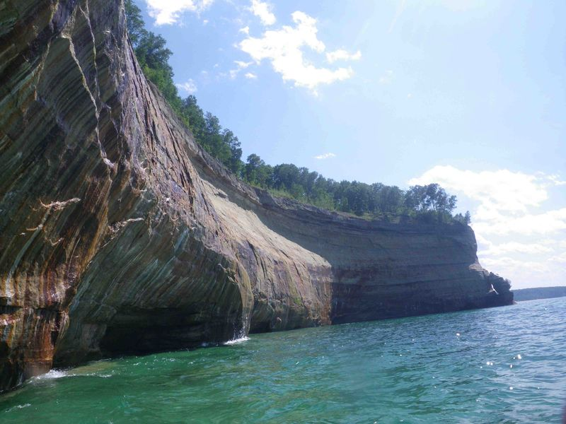 Pictured Rocks-Curved