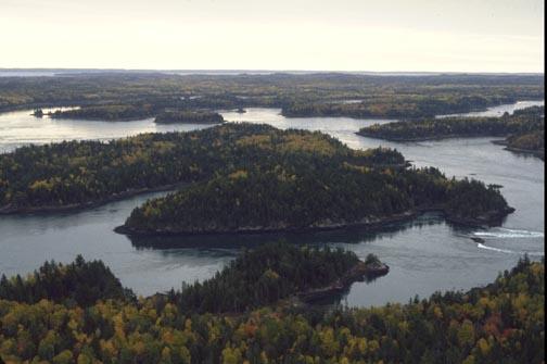 Falls island