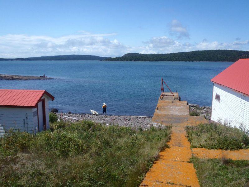 Sarah at Lamb Island Light